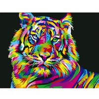 Paintings 5d Diamond Painting Kits Full Tiger Handmade Gift Mosaic Animal Art Home Decor