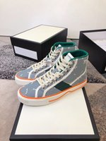 الرجال النساء 1977 تنس منخفضة ارتفاع قمم أحذية رياضية عارضة أحذية ثلاثية أسود أبيض برتقالي جلد حذاء رجل منصة شبكة الترفيه المدرب