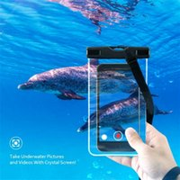 Waterproof Underwater Pouch Dry Bags Case Pockets Cover For Cell Phone Storage