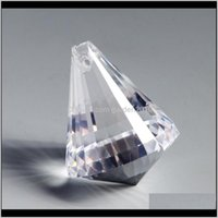 Кристалл алмазные шариковые подвески Освещение бусины стекла люстра Prism занавес DIY ремесел висит орнамент K0YRQ 41NWB