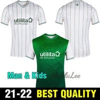 21 22 jerseys de futebol hibérnico casa verde hanlon mcginn doghar newell futebol jersey menle nisbet homens kits kits 2021 2022 camisas