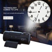 Desk & Table Clocks Roman Digital Led Projection Clock Silent Remote Control Projector Dial Living Room Store Analog-digital