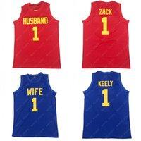 Mannen gered door de Bell Kelly Kapowski Vrouw 1 Zack Morris Echtgenoot Basketbal Jersey Family Rolplay Steekt