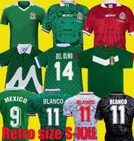 1997 1998 Edition Мексика Ретро Футбол Джерси 2006 1995 1986 1994 BLANCO LUIS GARCIA RAMIREZ Национальная команда Футбольная форма Hernandez Classic
