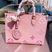 Mode Leder Qualität Senior Relievo Präger Einkaufstaschen