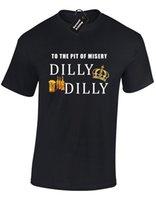 Boys Tee Boys to the Pit of Misery Mens T-shirt Dilly Funny Advert Slogan Joke (col) Fashion Style Men ,hip Hop Tee Shirtchildren's Clothingchildren's Clothing