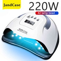 Powerful UV LED Semi-Permanent Big Size Two Hands Nail Gel Dryer Everything for Manicure Lamp