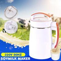 Camp Kitchen 2L Multifunction Soybean Soymilk Machine 800W 220V Fruit Juice Soy Milk Cereal Soup Maker Filter-free Stir Rice Paste