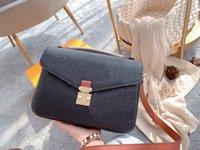 Hohe Qualität Textur von geprägten Litchi Crossbag Umhängetasche Handtasche Einkaufstasche Einkaufstasche Mode Klassische Männer und Frauen Brieftasche # 15