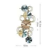 Orologi da parete Wu Chen Long Cinese Chinese Orologio di lusso Soggiorno casa Camera da letto MUTE ARTE CREATIVA ARTE DECORATIVA R5580
