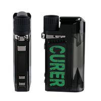 Originale VAPOR VAPOR CURER 3IN1 Kit vaporizer da 1600mAh VAPE STARTER Set per erba asciutta Penna di cera a olio densa con temperatura regolabile DHL gratis