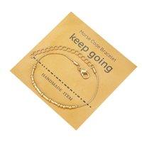 Charme Pulseiras 10 pçs / lote Handmade Morse Code Escondido Mensagem Cobre Electroplate Bead para amigos Lucky Jewelry