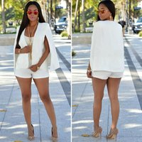 Trajes de mujer Blazers Clasificados de negocios Tops Tops Irregulares Damas Otoño Capa de otoño Solapa Slim Fabala Blazer Outwear
