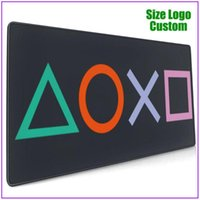 Mouse Pads & Wrist Rests Retro Splash Design PS Gaming Vintage PS5 PS2 PS3 PS4 Game Play Station Pad With Support Gel Extra Large Flora