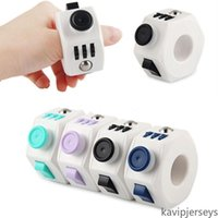 Estados Unidos Venda Anéis Fidget Rings Decompression Toy Engraçado ABS ABS Anti Stress Brinquedos Magics Spinner Spinner Anel Forma de Aniversário Presente