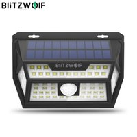 Smart Home Control Blitzwolf BW-OLT1 PIR Motion Sensor Solar Power 62 LED Wall Light Lamp Waterproof For Outdoor Garden Path Yard