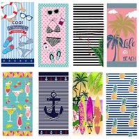 Microfiber Beach Towels Super Soft Bath Pool Towel Quick Dry Absorbent Blanket For Kids Teens Adults Travel Gym Camping Pool Outdoor AHA6290