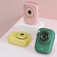 3D-Kamera-Mini-Handheld-Lüfter-tragbare USB-Gadgets wiederaufladbare Luftkühler-Student im Freien reisen kleine Fans