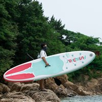 Funwater Uscaeu Warehouses Dropshipping Entrega dentro de 7 dias Surfboard 320 * 84 * 15cm Paddle Stand up SUP Paddleboard Paddleboard Sport Surf