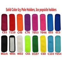 Home Kitches Kit Gelato Kit 16 Colore antigelo Popsicle Riutilizzabile Neoprene Cover Isolato Commercio all'ingrosso