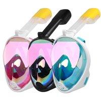 Masque de plongée plaqué masque de plongée Safe sous-marin anti-eau antibrouillard masque de plongée en apnée masque féminin femmes nage de plongée plongée