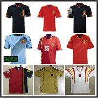 1994 1996 2002 2002 2008 2010 2012 Spanien Retro Fussball Jerseys Vintage Classic A.Inasta Torres Raul Xavi David Villa Football Shirt