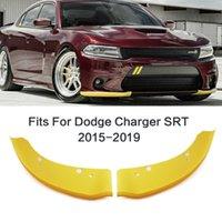 1 Pair Car Front Bumper Splitter Lip Deflector Lips Diffuser Spoiler Protection For Dodge Charger SRT Scat Pack 2015-2019 Car