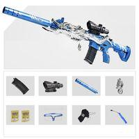M416 Wasser Kristall Bomb Bullet Spielzeuggewehr Electric Automatische Schießwaffe Blaster Modell Erwachsene CS Gehen Kämpfe Waffen Für Jungen