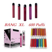 Bang XL Disposable Vape Starter Kit Cigarette 600 puffs Built-in 450mah Battery Pre-Filled 2ml 16 Colors Stick Pen Vs Puff Bar Plus XTRA Flex