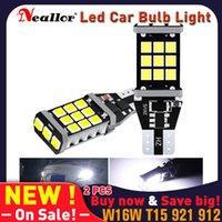 أضواء الطوارئ W16W T15 LED المصابيح 2835 SMD Canbus Obc Error خالية من ضوء النسخ الاحتياطي 921 912 سيارة عكس ديود مصباح زينون الأبيض DC12V