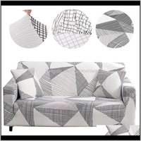 Ers Sashes Textiles Home & Garden Drop Delivery 2021 Elastic For Living Room Modern Sectional Corner Sofa Sliper Couch Er Chair Protector Dec