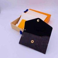 Мода дизайнер письма бумажник брелок брелок моды кошелек подвесной автомобиль цепи очарование коричневый цветок мини-сумки украшенные подарки аксессуары