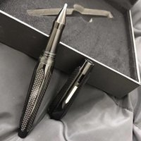 Roller Kugelschreiber Super Design Gold Clip Office Floreszierende Lichtversorgung Schreibkästchen Großhandel Weihnachtsgeschenk für Mann