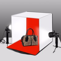 PULUZ 40CM Folding Lightbox Tabletop Shooting Softbox Mini Photo Studio Light Soft Box for Product Photography Background Kit