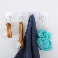 Stainless Steel Robe Hook Towel Wall Mount Square Coat Hat Door Hanger Bathroom Hardware Hooks & Rails