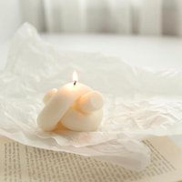 Свеча плесень Соевые восковые силиконовые формы формы для гипсолита 3D ручной ароматное мыло кухня используйте свечи