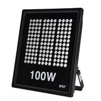 Zasoby w USA Oświetlenie Oświetlenie LED Reflektory 100 W AC110V 3000K / 6000K SMD2835 10000LM Nadaje się do Garden Yard Warehouse Garage Workshop