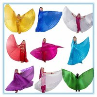 Etapa Wear Dance Kids Isis Belly Dancing Angle Wings Gold For Girls Niños 10 colores (sin palitos)