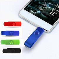 2 in 1 OTG Micro USB 2.0 Flash Pen Drive Memory Drives for Android  PC 4GB-128GB
