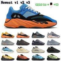 enfant boost 2021 wave runner 700 v1 v2 v3 mnvn men women shoes Safflower Sun Clay Brown Azareth Alvah Azael Bone Inertia sports sneakers trainers