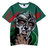 Women's T-Shirt 3D Print MF DOOM Tshirt Unisex O-Neck Women Men's Summer Short Sleeve Harajuku Streetwear American Rapper RIP Clothes