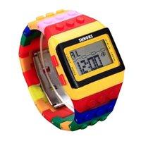 Wristwatches Unisex Colorful Led Digital Watch Mens Women Watches Erkek Kol Saati Relogio Feminino Masculino