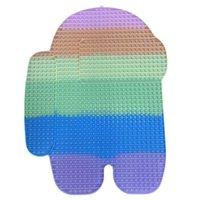 Super große 85cm Rainbow Sensorische Bubbles Popper Board Push Pop Zappeln Spielzeug Mega Jumbo Riesengröße Unicron Schmetterling Eis Creme Puzzle Sale G72VMB4
