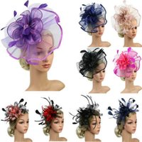 NOUVEAU Cocktail Cocktail Hat Womens Sinamay Fascinator Church Mariage Kentucky Derby Drs
