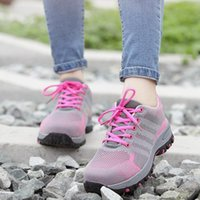 Boots Mesh Womens Safety Shoes Work Steel Toe Women Breathable Smash-proof Indestructible Non Slip