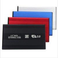 Alüminyum 2.5 inç HDD SSD Muhafaza Adaptörü Kılıf SATA'ya USB 3.0 Sabit Disk Sürücüsü Kutusu PC Dizüstü Masaüstü