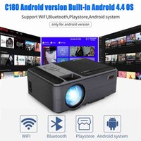 Mini Portable Wifi Projector Bluetooth Wireless HD USB Support 1080P Airplay Miracast for iOS Android Phone Tablet TV DVD Laptop 210609