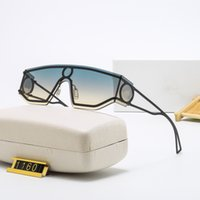 2022 m Five Estate Occhiali da sole sovradimensionati per uomo e donna 1160 Stile Anti-ultravioletto Retro piastra piastra quadrata full frame moda occhiali da vista casuale