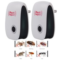 US UK EU PLUG petscontrol Electronic Silent Ultrasonic Pest Repeller Mosquito Rejector Mouse Anti killer Cockroach Rat Bug Rejection HHF7790