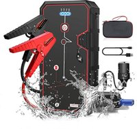 Car Jump Starter battery pack 2000A Peak 21800mAh 12V Super Safe Starter(Up to 8.0L Gas or 6.5L Diesel Engine), with USB Quick Charge 3.0 Type-C Portable Phone Charger